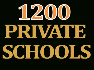 Give you 1200  private schools contact,email,web  in UK