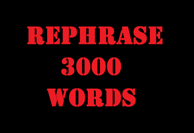 Rephrase Manually | No Spinning