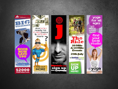 Deliver a stand-out web banner