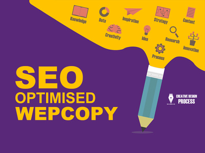Write engaging SEO ready website content (webcopy) for your website