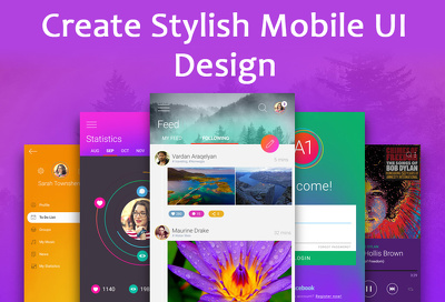Design you an fantastic, iPhone or Android app (10 Screens, Design Only)