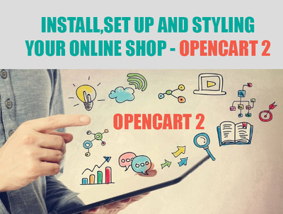 Install, set up and styling your online shop into Opencart 2