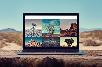 Design you a beautiful Website / Landing Page Mockup