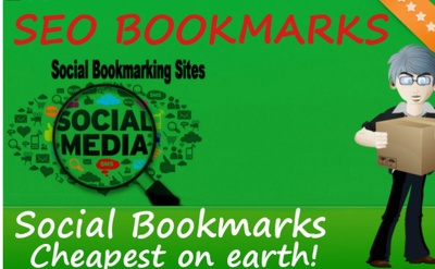 Create 1000 quality social bookmarking backlinks