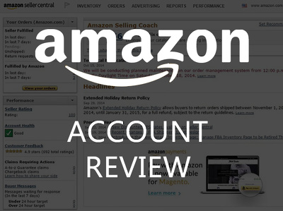 Provide a report on the preformance of your Amazon account from the past 3 months