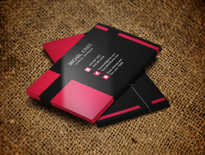 Design 3 professional  business card for your company or business