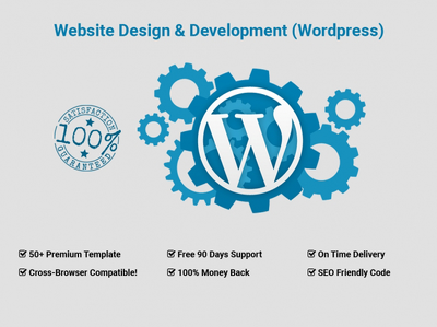 offer wordpress website changes & customizations