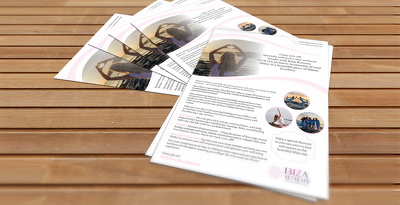 Design a single side flyer, leaflet, ticket, postcard with unlimited revisions