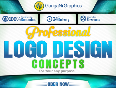 Design professional logo for your any purpose