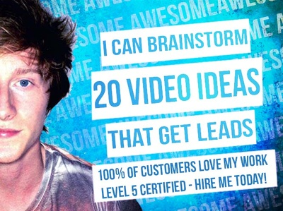 BRAINSTORM 20 Online Video Ideas That GET LEADS