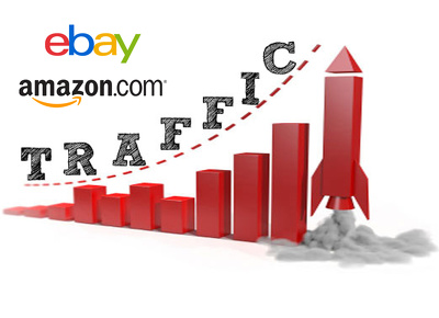 deliver 2000 visitors to ebay or amazon product page