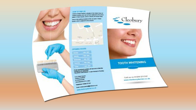 Design trifold brochure for you