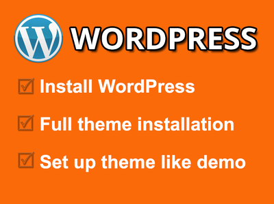 Install any WordPress theme and setup like demo in 5 hours for $20