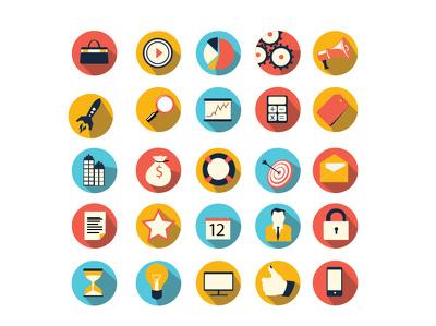 Design professional Flat modern icons