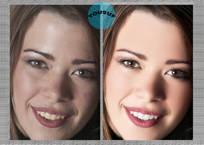 Retouch 5 beauty / glamour photos