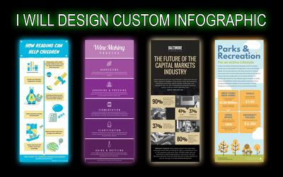 Design creative infographic that will catch reader's attention