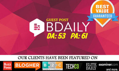 Publish Guest Post on Business Daily UK | BDaily.co.uk | DA53 PA61