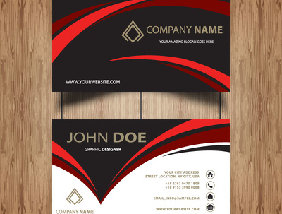 Design your business card/flyer/poster/banner or any kind of design
