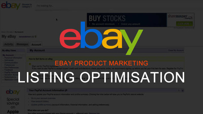 Review and optimise up to 10 of your eBay UK product listings
