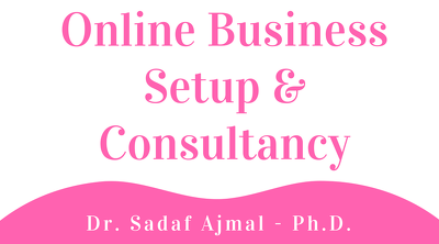 Online business setup and consultancy