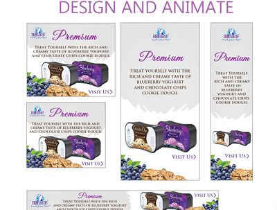 Create HTML5 animated banner with CTA button