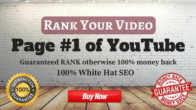 Rank Your Video On Page #1 Of YouTube ✦✦✦ 100% MONEY REFUND, IF NOT RANKED ✦✦✦