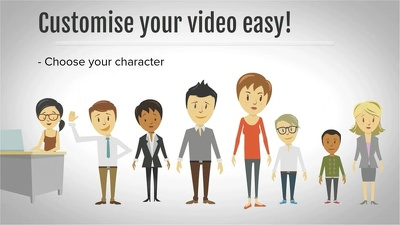 Create a professional animated explainer/promo video