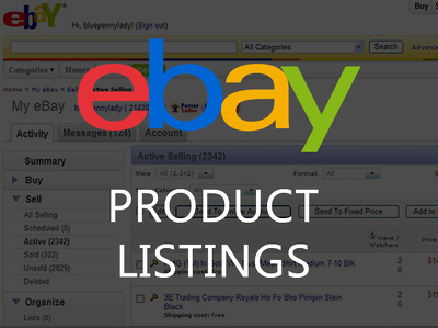Create two high quality eBay listings