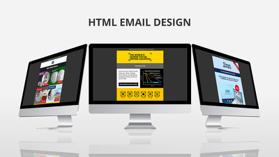 Design and build an HTML marketing email for £150