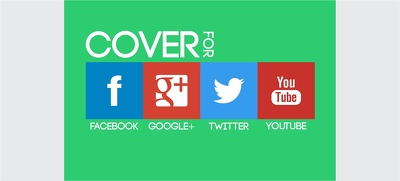 Design your social media backgrounds or covers