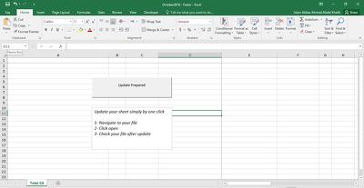 Create VBA Macro to automate single excel sheet