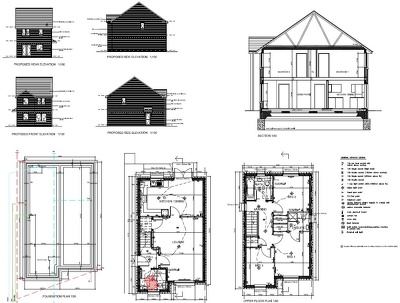 Provide Building Regulation Drawings and submit to council