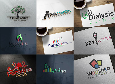 Design 2D&3D logo within 24hrs Delivery