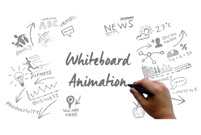 Create a unique whiteboard animation