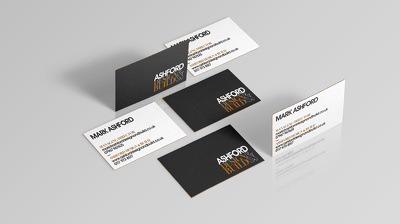 Design a professional, luxe, stylish two-sided business card