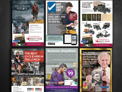 Stand out advert or flyer ( any size, single & double sided  )
