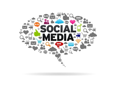 Create a professional business page on social media