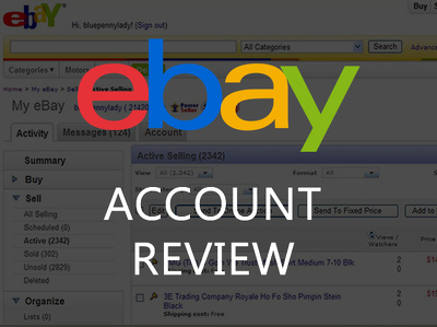 Provide a report on the preformance of your eBay account from the past 3 months
