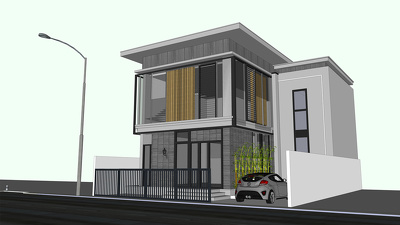 Design your 3D Architectural project on Sketchup
