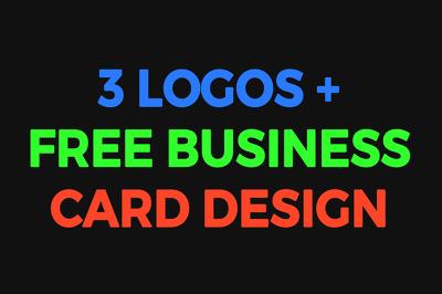 Design a Premium Logo with Beautiful Business Card Design