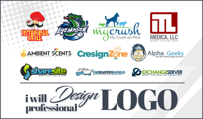 Design a PROFESSIONAL logo with free revisions