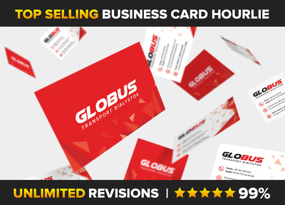 Design a professional business card with unlimited revisions