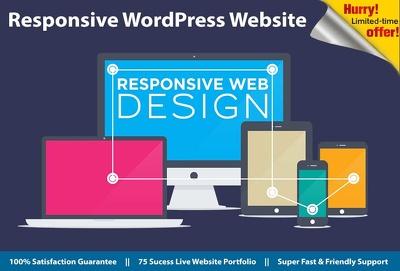 Build fully featured Wordpress Website