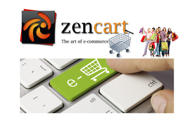 Build ecommerce website with zen cart