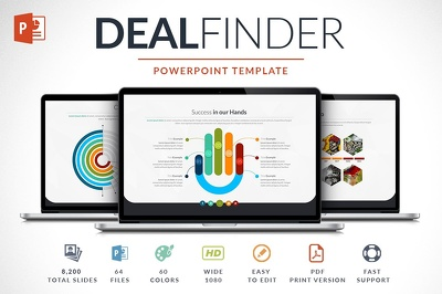 Deliver Deal Finder Powerpoint Template
