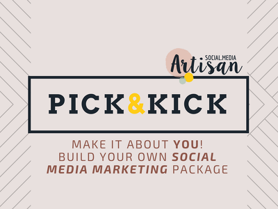 "Be your Social Media Creative Coordinator ►""PICK&KICK"" pack"