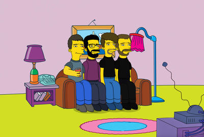 Draw you as a TV Simpsons character, great present!