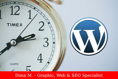 Offer 1 hour of updates and customization to your wordpress based website