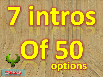 Create 7 AMAZING Video Intro Animations of the best 50 options