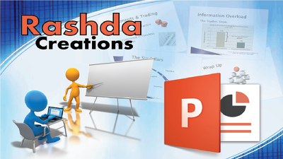 Design eye-catching Powerpoint slides for you  (upto 10 slides)